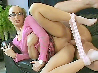 Cute Blonde more and more Pantyhose Gets Fucked